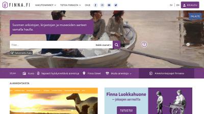 Kuvakaappaus Finna.fi-palvelusta.