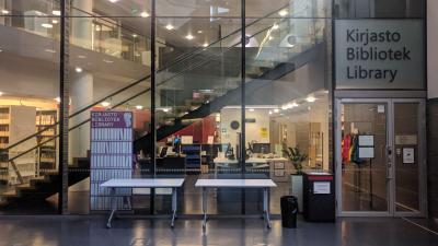 Uniarts Library Musiikkitalo