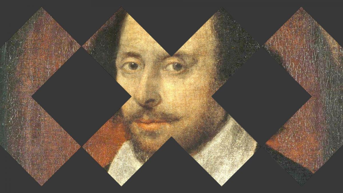 Shakespeare ja Taideyliopiston logoja.